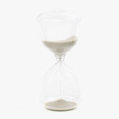 Ampulheta Branca (5 minutos) | referência 34769472 | A Loja do Gato Preto | #alojadogatopreto | #shoponline