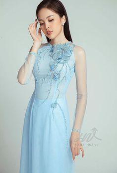 Vietnamese Wedding Dress, Vietnamese Dress, Vietnam Costume, Traditional Gowns, Ao Dai, China Fashion, Dream Dress, Indian Wear, Asian Beauty