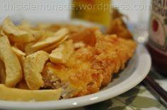 All patriotic about food: fish & chips - thisislemonade.wordpress.com