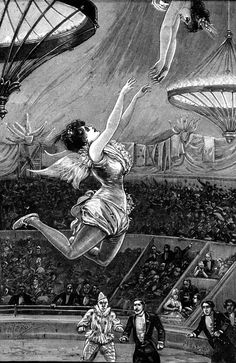 Imagini pentru Angela Carter – Nights at the Circus Old Circus, Circus Art, Vintage Circus, Circus Poster, Night Circus, Circo Vintage, Carnival Posters, Big Top, Sideshow