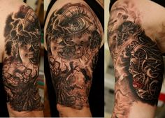 Dmitriy Samohin « – Torn up Time TattooArtProject.com – The best realistic tattoo artists in the world.
