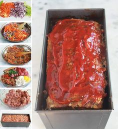 Sauce Barbecue, Barbecue Recipes, Grilling Recipes, Cooking Recipes, Pork Brisket, Pork Ribs, Healthy Breakfast Recipes, Easy Healthy Recipes, Classic Meatloaf Recipe