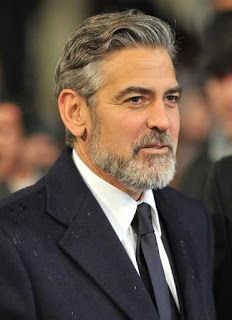 32 Handsome George Clooney S Hairstyles Hairstylo George Clooney Haircut Old Man Haircut Handsome Older Men