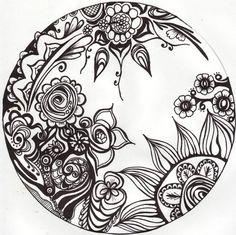 art mandala coloring pages | BASIC MANDALA – ready for olouring
