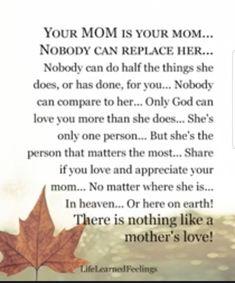 Love my momma