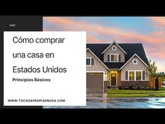 Cómo comprar una casa en Estados Unidos. Principios básicos - YouTube Chula Vista, Sell Your House Fast, Selling Your House, Renters Insurance, Home Insurance, Real Estate Business, Local Real Estate, San Diego, Property Buyers