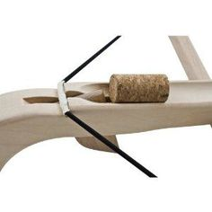 BestSaller 1238 Korken-Armbrust klein, natur, für Flaschenkorken ab 14 Jahre