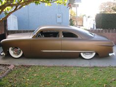The inspiration for our chop.  1950 Ford