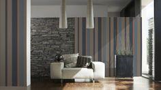 Ambiente di design - Abbinare il divano alle pareti per un soggiorno di design.
