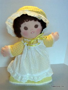"Cloth Doll PDF Pattern Little Toofie Pattern for 15"" Doll with Teeth - Great Beginner Sewing Pattern by Peekaboo Porch"