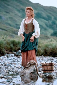 Mary MacGregor - Jessica Lange in Rob Roy (1995).