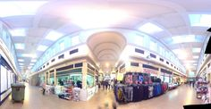 A funky photo of Alley 1 in the Grainger Market