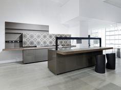 Genius Loci Valcucine #flagship store #milan #showroom #kitchens #cabinets