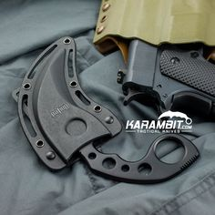 Learn more about the Black Undercover Karambit w/Sheath. The Karambit is constructed from one solid piece of 420 stainless steel and offers generous size finger holes for an excellent grip whether the blade is held down from the fist or extending from the top of the hand.