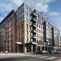 Apartment Buildings and Condo Complex's In New Jersey Residential Building Design, Residential Complex, Building Exterior, Building Facade, Building Ideas, Facade Architecture, Residential Architecture, Cover Design, Apartment Floor Plans