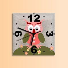 Scottish owl clock,