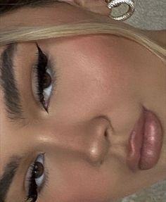Cute Makeup Looks, Makeup Eye Looks, Eye Makeup Art, Natural Makeup Looks, Pretty Makeup, Skin Makeup, Beauty Makeup, Retro Eye Makeup, Soft Eye Makeup
