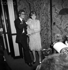 1965 - Yves Saint Laurent & Barbra Streisand