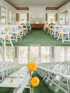 Mid Century Modern Retro Wedding Photos at Toledo Country Club by Mary Wyar Photography http://marywyarphotography.com