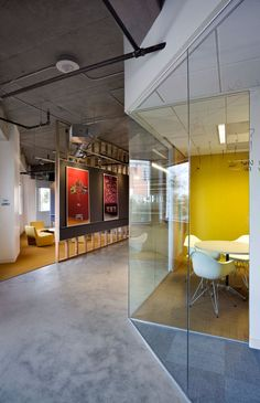 Razorfish HQ Office Collaboration with Razorfish, Gensler, and BCCI began during preconstruction of this relocation project, where the team engaged in value engineering and planning.