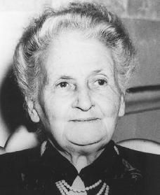 Marie Montessori, physician and founder of the Montessori School movement. Maria Montessori, Early Education, Early Childhood Education, Mighty Girl, Daycare Forms, Montessori Education, Developmental Psychology, Practical Life, Human Development