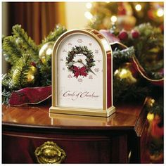 Howard Miller® Carols of Christmas Holiday Table Clock on shopstyle.com