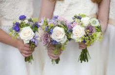 bruidsboeket blauw paars - Google zoeken