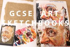 gcse art sketchbooks art alevel, a level art sketchbook layout, sketchbook ideas Inspiration Art, Sketchbook Inspiration, Sketchbook Ideas, Portfolio D'art, Artist Research Page, Art Sketches, Art Drawings, Art Du Croquis, Gcse Art Sketchbook