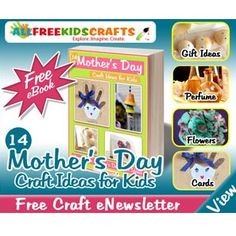 Free Mother's Day Crafts for Kids - http://www.getfreesampleswithoutsurveys.com/free-mothers-day-crafts-for-kids