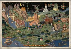 """Where the Heroes of Your Favorite Fairy Tales Live"" by Mariana Zapata via Atlas Obscura The Land of Make Believe by Jaro Hess. (All photos courtesy of"