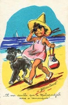 Mer et plage : Germaine Bouret - Le site officiel