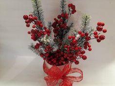 Sugestão de centro de mesa para este #Natal! #decor #decoracaodenatal #jardiland