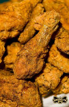 Fresh Plate of Blue Ribbon's Fried Chicken. :: Food by #BlueRibbon via #Flickr  // #BlueRibbonFood - #BrooklynBowlFood - #Food - #NYCRestaurants - #BowlingAlley - #BrooklynFoodPlaces - #NYC -#BrooklynNightLife - #Williamsburg -#Entertainment - #LiveMusic - #FriedChicken