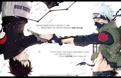 """Bonds"" by IFrAgMenTIx.deviantart.com on @deviantART Ft. Obito Uchiha and Kakashi Hatake (Naruto)"