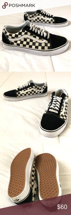 82 Best Vans checkerboard images | Cute shoes, Painted shoes