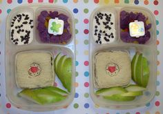 @MOMables The Airport Sandwich made with @Peanut Butter & Co. cinnamon raisin swirl and apples in @EasyLunchBoxes