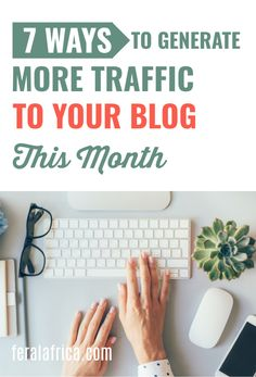 Tired of trying to figure out how to increase your blog traffic? It can definitely be a huge challenge but these 7 tips down below will give you some ideas for traffic generation. Check out these 7 genius ways to increase blog traffic #blogtraffic #blogging #bloggingforbeginners #websitetraffic How To Start A Blog, How To Make Money, Tired Of Trying, Blogging For Beginners, Writing Tips, Teaching, Marketing, Africa, Challenge
