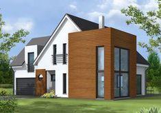Capella, une maison familiale avec de beaux volumes et un très grand garage proposée par Maisons Claude Rizzon Alsace.