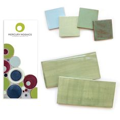 Sample Pack #2: Subway Tile Delight! from Mercury Mosaics  for $30.00 on Square Market
