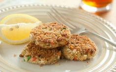 Chesapeake Spiced Salmon Cakes   Canned salmon provides a flavor twist and an omega-3 boost to traditional Maryland crab cakes. Serve with lemon wedges, tartar sauce and plenty of grilled corn or veggies.