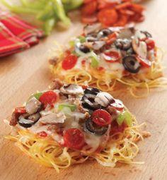 Mini Spaghetti Pizzas Recipe - Food Literacy Center