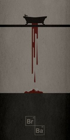 Breaking Bad Season One Minimalist Poster (Don't know the artist)