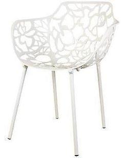 Cast Magnolia design stoel Wit 150,-