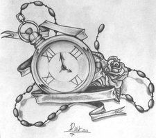 clock_tattoo_design_by_dvirb-d65tix6.jpg (225×200).... Something to think about...