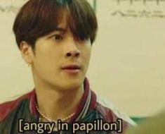 Super Ideas For Memes Faces Kpop Cool Memes, Memes Funny Faces, Funny Kpop Memes, New Memes, Meme Meme, Yugyeom, Youngjae, Meme Got7, Got7 Funny