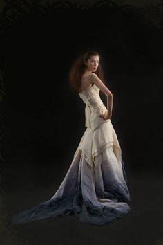 Tara Latour gradient wedding dress in my favorite colors.