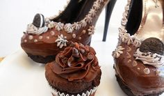 Let's check in on the decadent, completely inedible, yet perfectly wearable shoes from The Shoe Bakery (previously featured here). The Orlando, Florida-based company is run by Chris Campbell, who loves both shoes and sweets so much that he decided to combine them in the form of outrageously tantalizing ice cream, cake and donut-themed footwear.