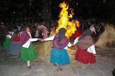 Pérou Lac Titicaca Isla Amantani, danses traditionelles