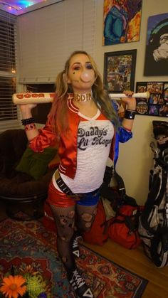 harley-quinn-hallowe - http://www.femalejokercostume.com