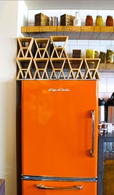 The Great American Fridge is back! Timeless designs with diverse color Palettes #BigChill #Retro